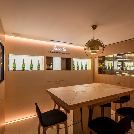 MOËT &#038; CHANDON<BR> <H6>INSIDE — LA TABLE DU CHEF<BR> PARIS <BR>2018</H6>